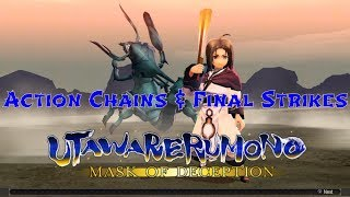 Utawarerumono Mask of Deception Action Chains & Final Strikes (Playable Characters)