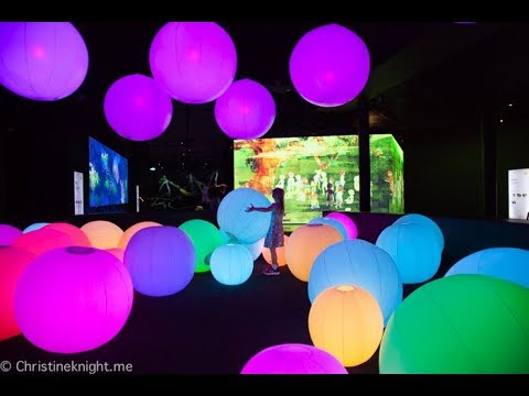 Learn & Play! teamLab Future Park at the Powerhouse Museum Sydney