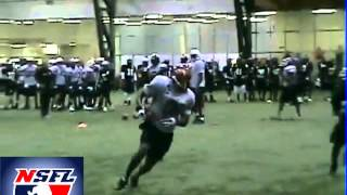 National Spring Football League Combines