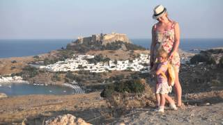 Путешествие на остров Родос (Греция)(Видео о том как мы ездили на остров Родос. Иветте 2 года 4 месяца. 8 - 16 августа 2015 Music Maroon 5 - this summer's gonna hurt Lucy..., 2015-08-23T22:05:19.000Z)