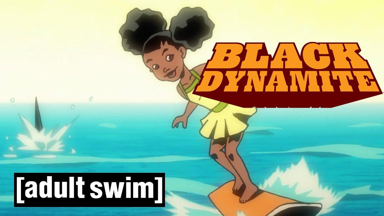 Download Black Dynamite | Black Jaws | Season 2 now on All 4 | Adult Swim UK 🇬🇧