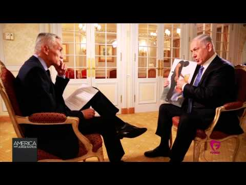 Jorge Ramos interview Isreali Prime Minister Benjamin Netanyahu (October 2014)