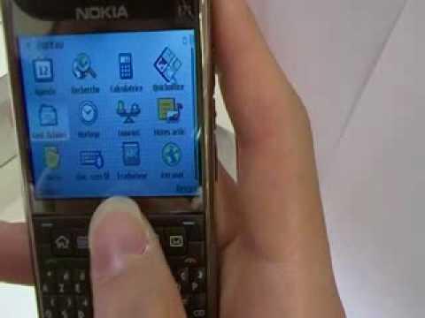 Test Vidéo du Nokia E71