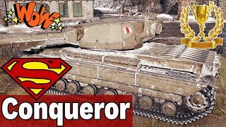 MISTRZOWSKIE ZAGRANIE! - Super Conqueror - World of Tanks