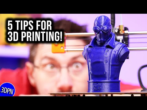 5 Tips for 3D Printing from the Community!