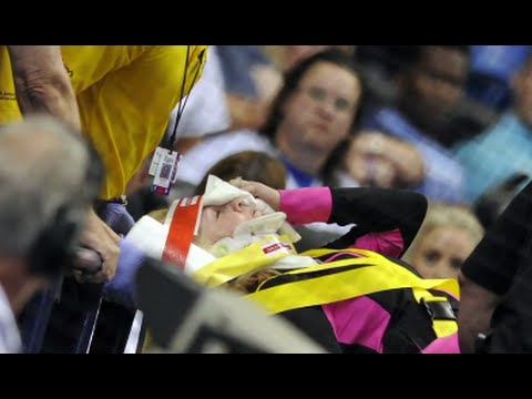 Woman Hit by Foul Ball at Tampa Bay Rays Game