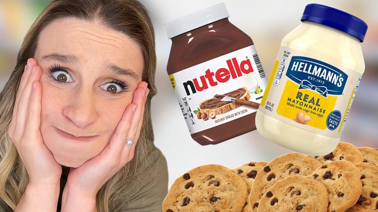 Download Making Cookies With 5 Random Ingredients!! (FOOD CHALLENGE)