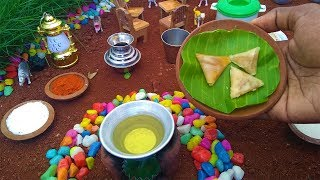 MINI SAMOSA | Mini Food Samosa | Miniature Cooking | Tiny Samosa