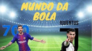 Messi chega a marca de 700 gol ...
