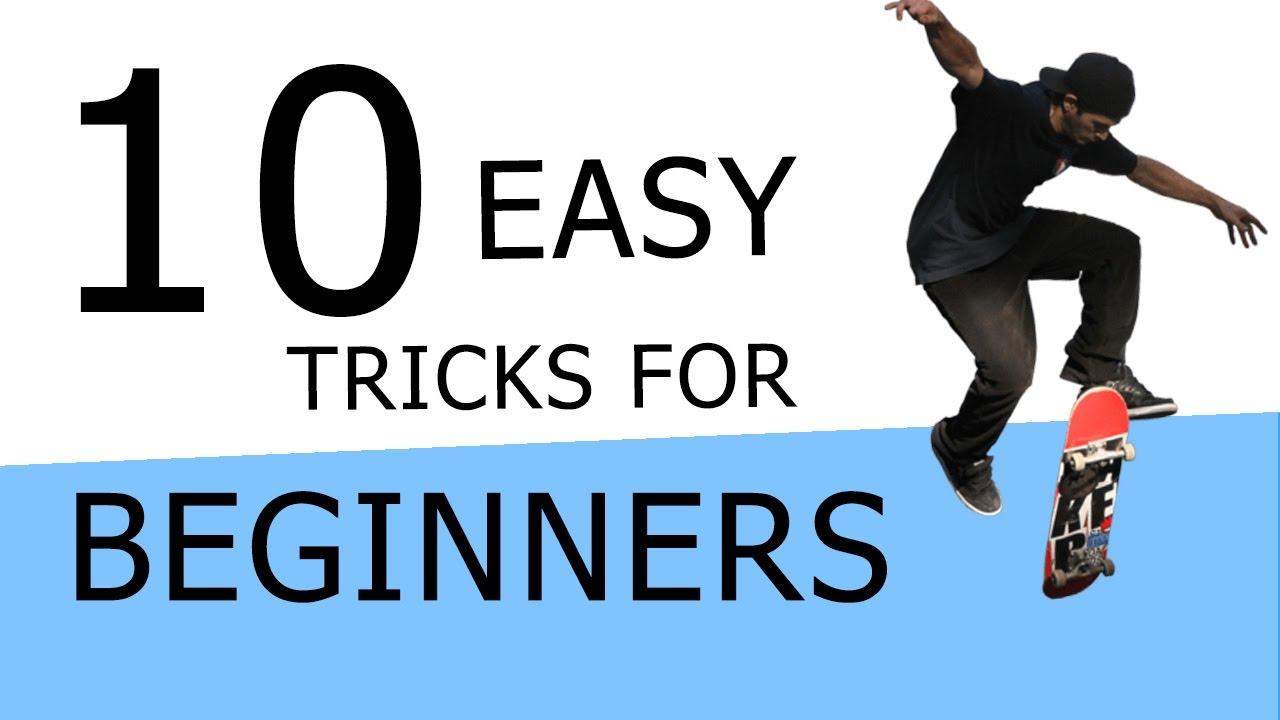 THE 5 EASIEST SKATEBOARD TRICKS FOR BEGINNERS - YouTube