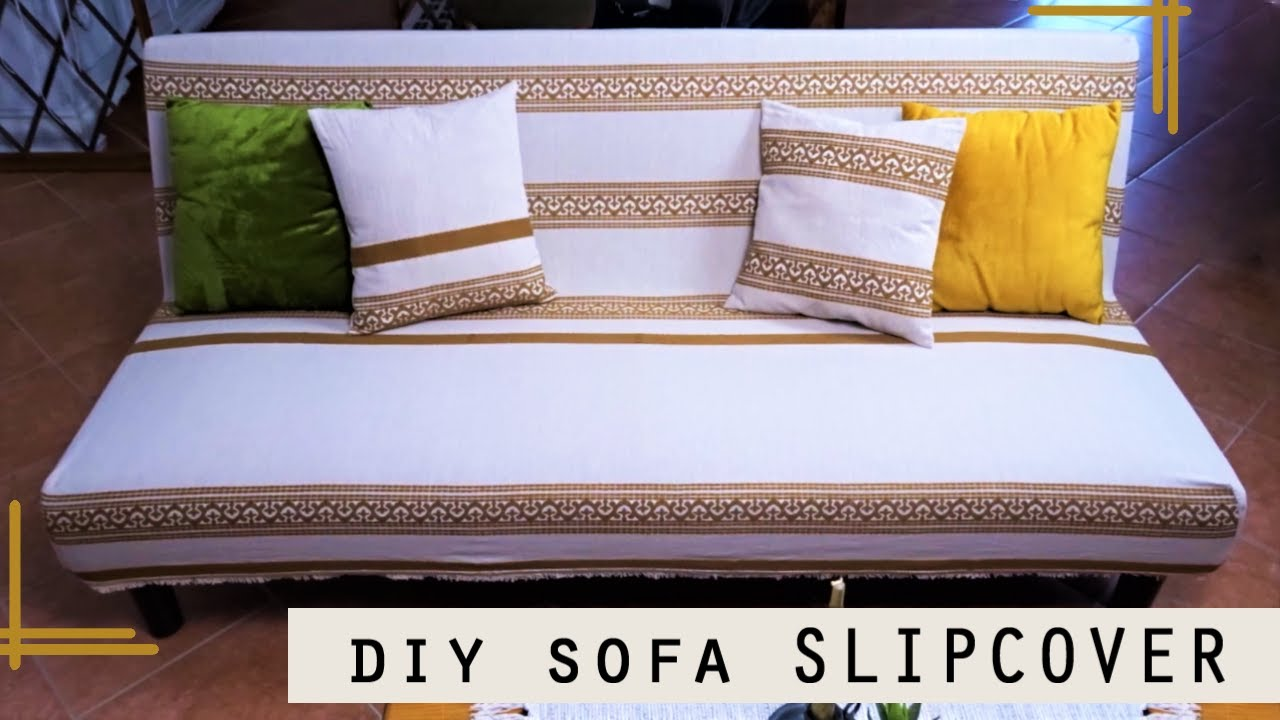 A Sofa Bed Couch Slipcover, How To Cover A Sleeper Sofa