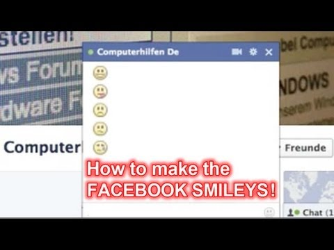 Facebook Smileys - How To Make The Smiley Faces