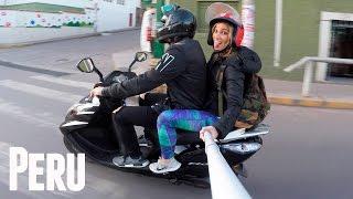 EPIC MOTORBIKE ADVENTURE THRU PERU