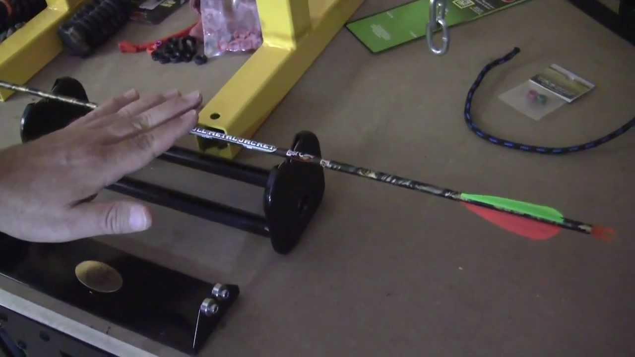 Arrow Inspector Balance Straightness Detector Spine Tester Detecting Tool
