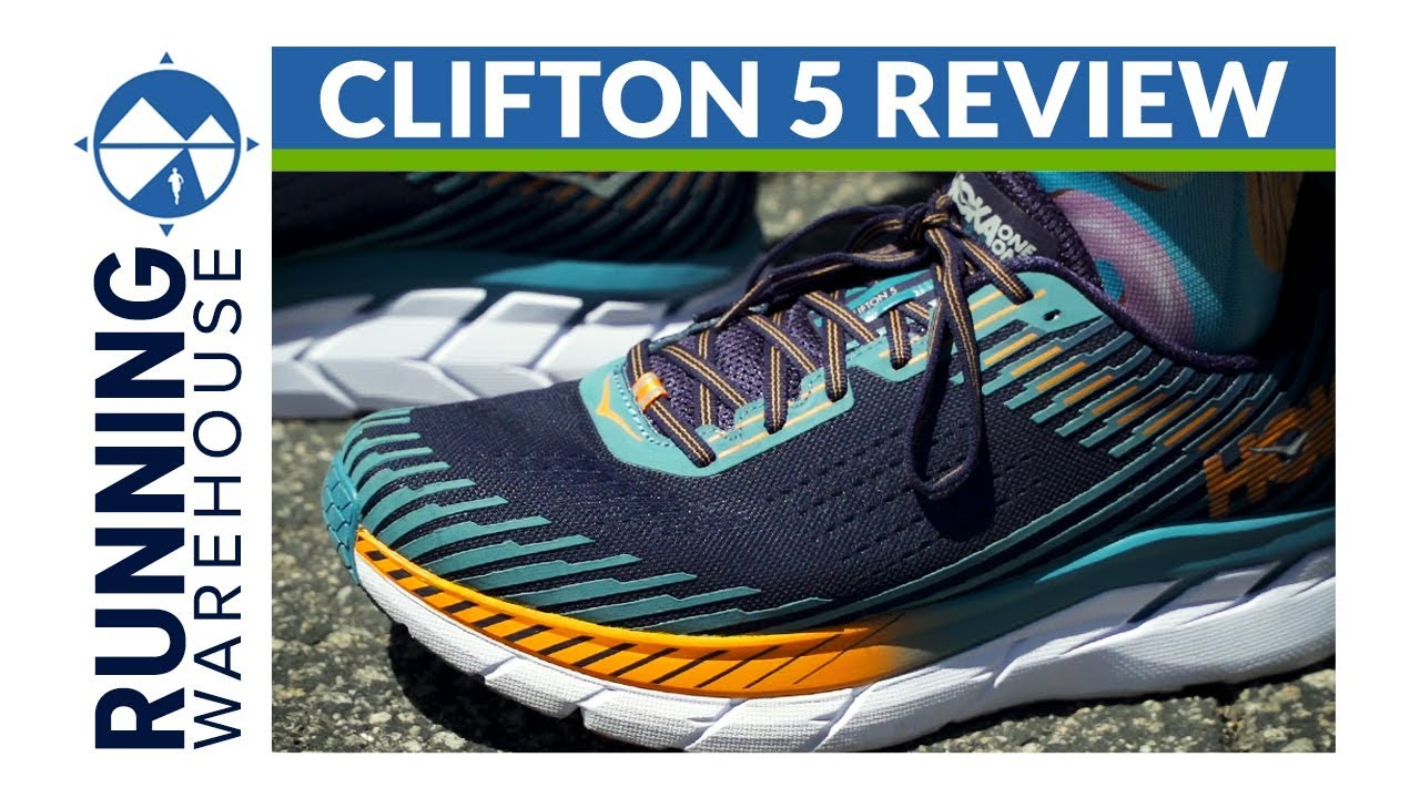 0c9d1248d4b99 Hoka One One Clifton 5 Running Shoe Review - YouTube