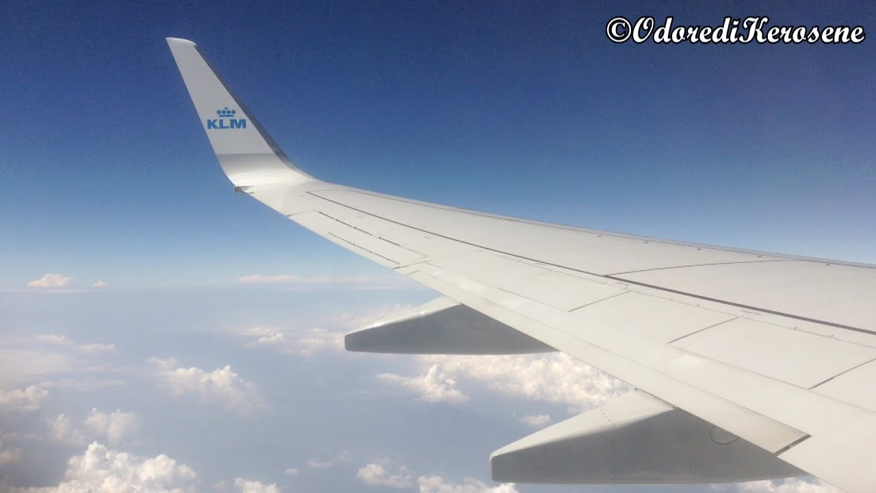 KLM flight from Venice Marco Polo to Amsterdam Schiphol ...