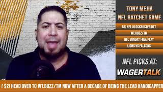Atlanta Falcons vs Detroit Lions Free Play and Prediction | NFL Picks and Predictions for 10/25/2020