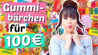 100€ für GUMMIBÄREN ausgeben 🤦🏼♀️| ViktoriaSarina
