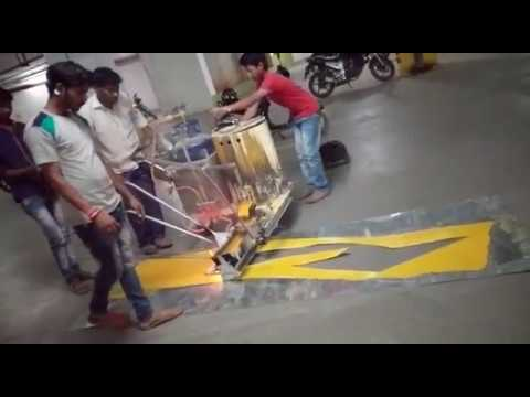 Car Parking Arrow Marking Paint Contractor in Hyderabad by YNM Safety   YNM Pan Global Trade Pvt