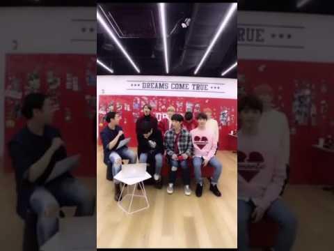170123 NCT127 웨이보 라이브 Weibo Live