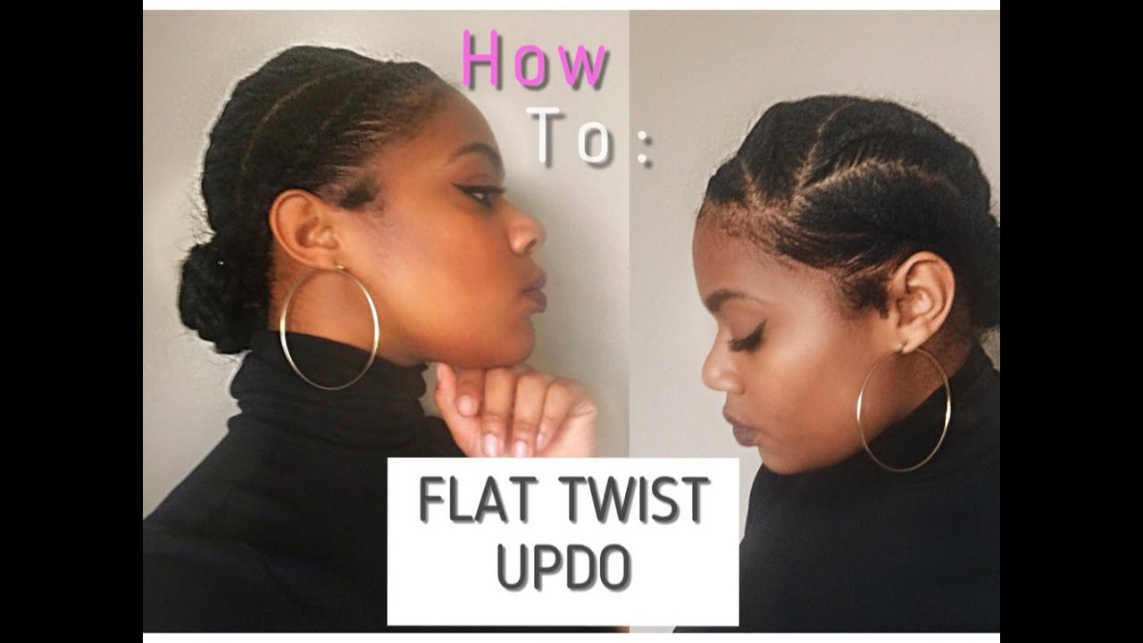 Pictures Of Flat Twist On Natural Hair