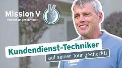 Kundendienst-Techniker – auf seiner Tour gecheckt!