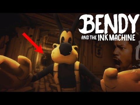 THIS IS THE BEST CHAPTER... BORIS BEHIND YOU!  Bendy and The Ink Machine Chapter 3