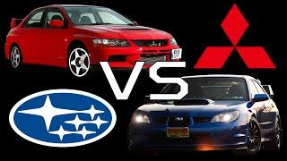 (Versus) Subaru vs. Mitsubishi