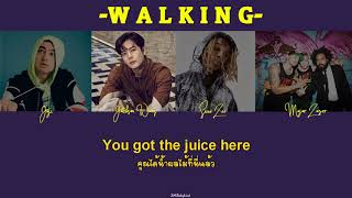 [THAISUB] Walking - Joji & Jackson Wang feat. Swae Lee & Major Lazer