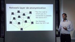 Lecture 6 — Bitcoin and Anonymity(, 2015-03-23T16:34:41.000Z)
