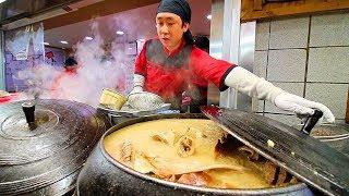 INCREDIBLE Korean Street Food Tour in Gangneung, Korea   BEST STREET FOOD in KOREA + SPICY BURGER