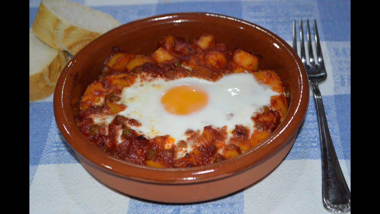 Huevos A La Flamenca Receta Tradicional Rica Y Fácil De Hacer Flamenco Style Eggs Youtube