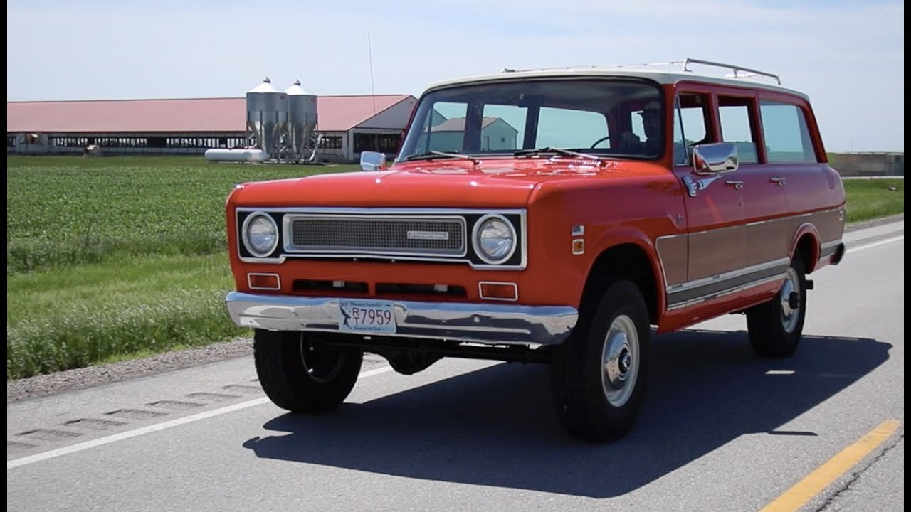 Anything Scout '71 Travelall LS Swap