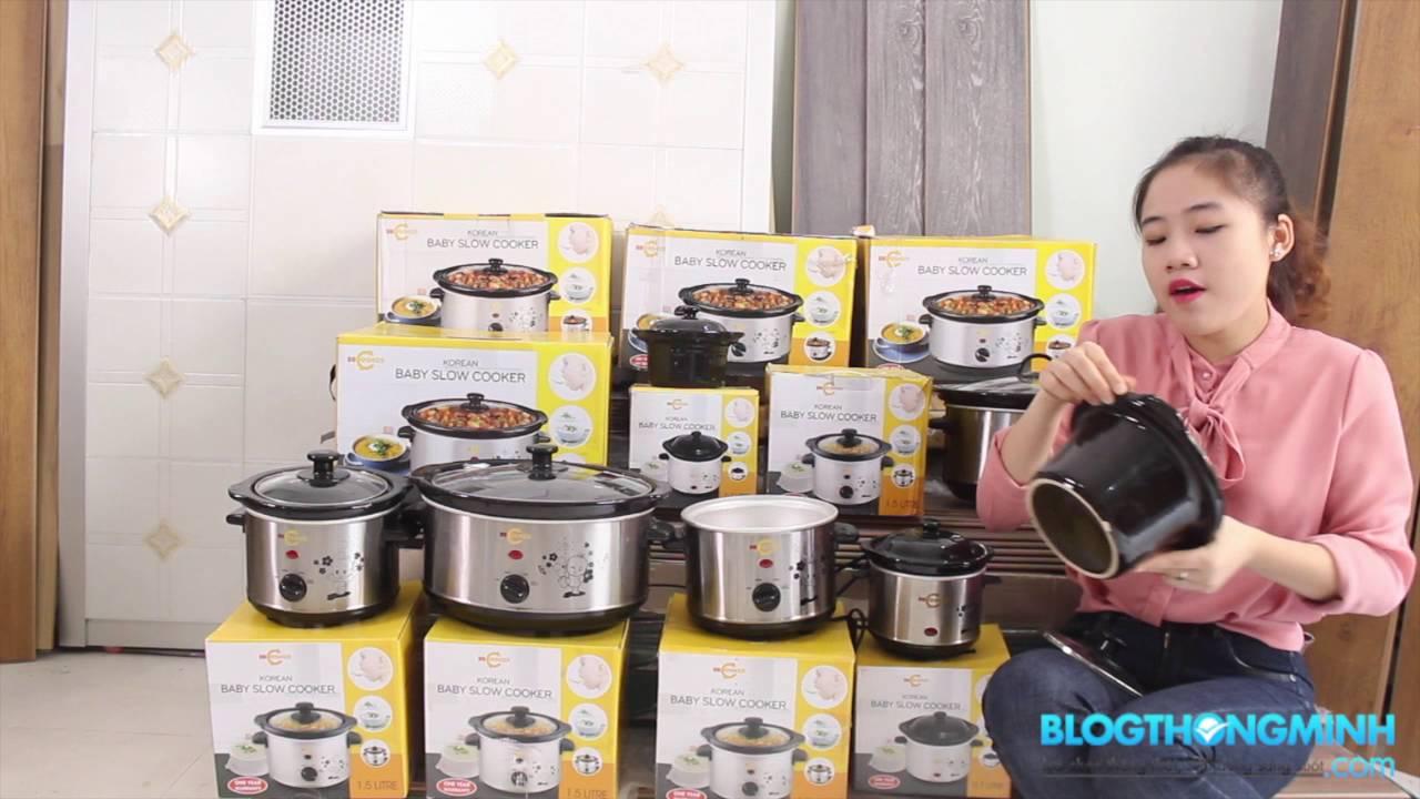 Những kinh nghiệm cách chọn nồi nấu cháo tốt cho bé