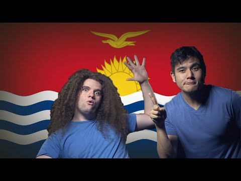 Flag Fan Friday KIRIBATI! (Geography Now!)
