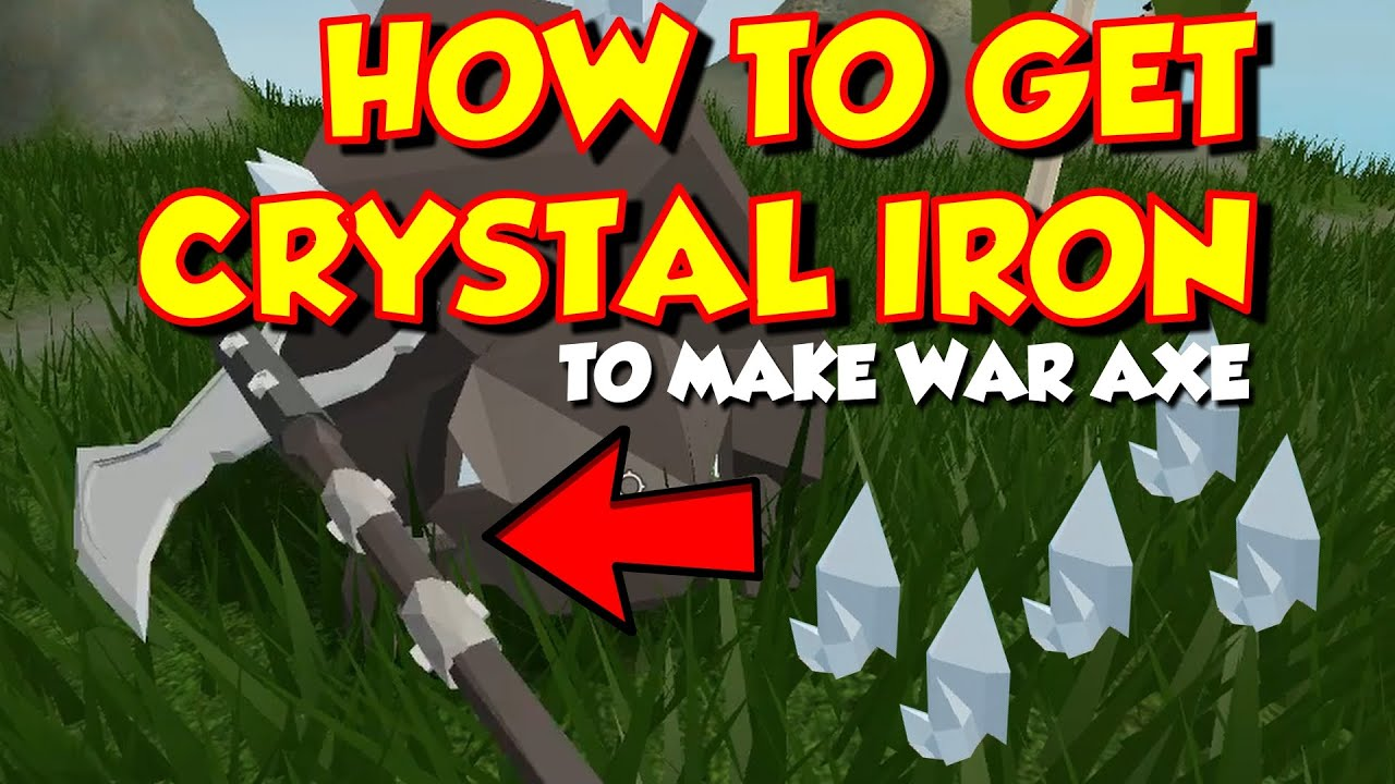 How To Get Crystalized Iron In Roblox Skyblock How To Defeat
