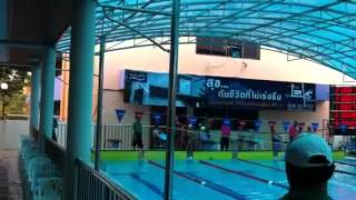 Tawan's swimming race 2011