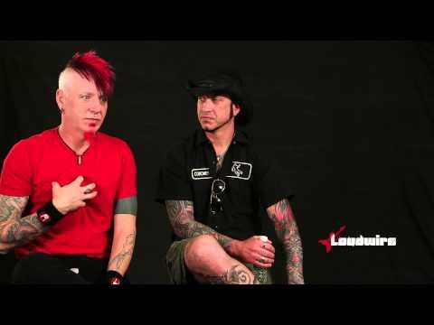 Hellyeah Talk 'Blood for Blood' Guitars & Drums