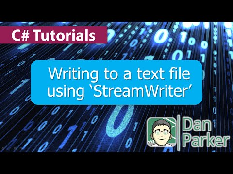 how to write a string to a text file using c#