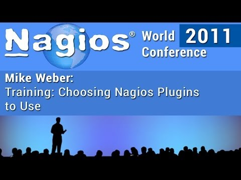 Mike Weber: Choosing Nagios Plugins To Use