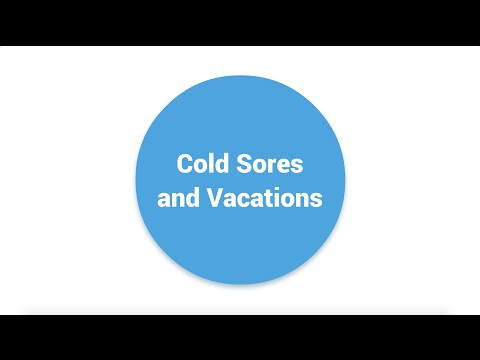 Cold Sores and Vacations | APLUS Institute | Toronto Dental Hygiene School