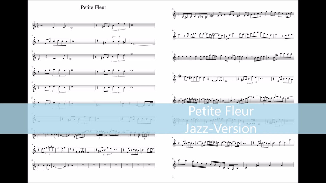 Petite Fleur Jazz Version Clarinet Cover By Alfri Youtube