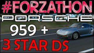 #Forzathon - Porsche 959, 3 Star Surfers Park Danger Sign - Forza Horizon 3 Forzathon Challenges FH3