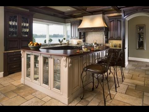 High End Kitchen Cabinets - YouTube