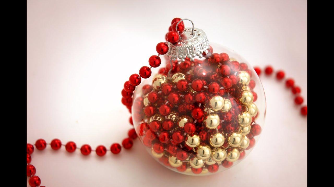 how to make a bead garland christmas ornament - Christmas Bead Garland