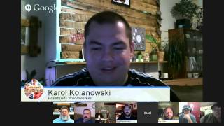 The Woodworkers Weekend Shop Talk - Se 02 Ep 10 With Karol Kolanowski