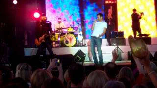 wet wet wet  sweet little mystery glasgow green 2012