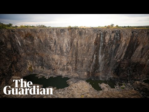 Victoria Falls Dries To A Trickle After Worst Drought In A