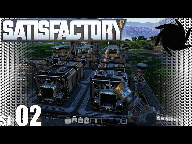 Satisfactory - 02 - Atomatic Mining