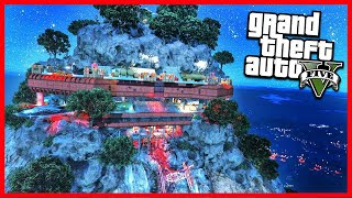 THE TOP OF THE MOUNT CHILIAD IN ZOMBIE OUTBREAK! (GTA 5 Mods)